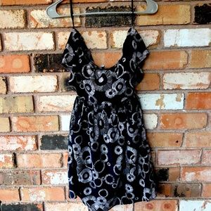 Free People Paper Flower Tube Dress with Pockets
